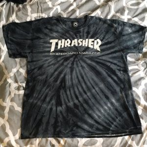 Men's Thrasher Tie Dye T-Shirt Size L